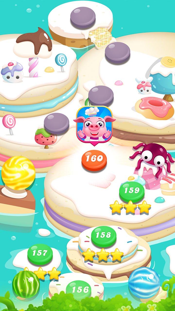糖果泡泡传奇 - 糖果遊戲截图第3张