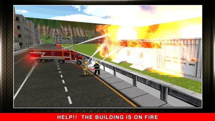 911消防卡车模拟3D截图第4张