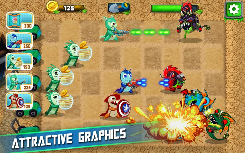 Slugs vs Zombie Ghouls截图第12张