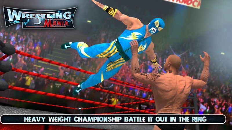 WRESTLING MANIA : WRESTLING GAMES & FIGHTING截图第2张