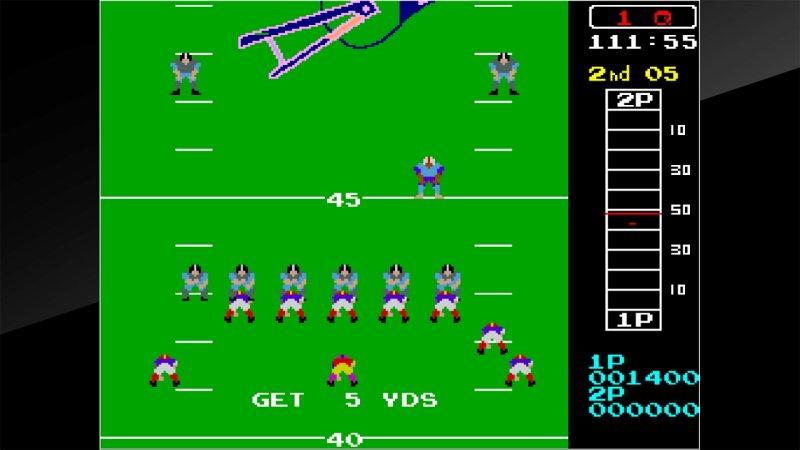Arcade Archives 10-Yard Fight截图第2张
