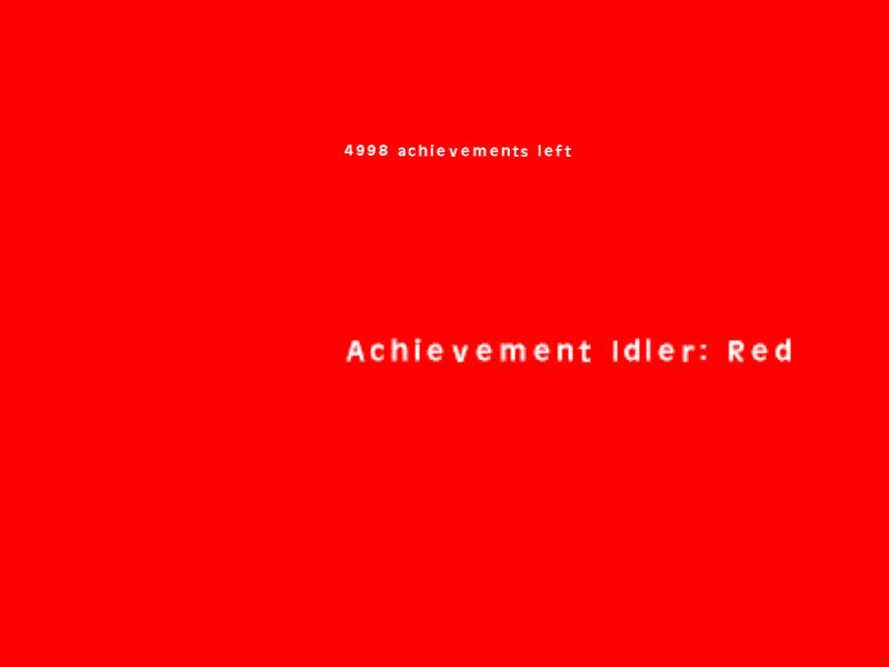 Achievement Idler: Red截图第1张