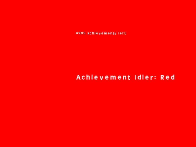 Achievement Idler: Red截图第3张