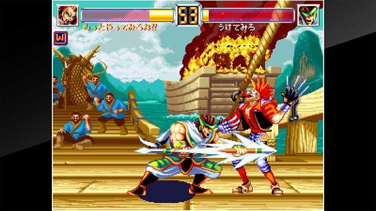 ACA NeoGeo World Heroes 2 JET截图第4张