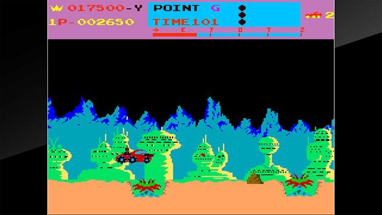 Arcade Archives Moon Patrol截图第3张
