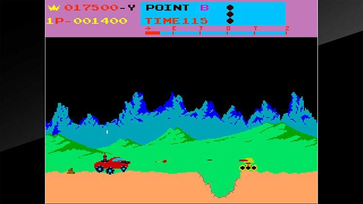 Arcade Archives Moon Patrol截图第4张