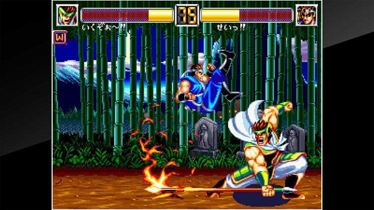 ACA NeoGeo World Heroes 2 JET截图第6张
