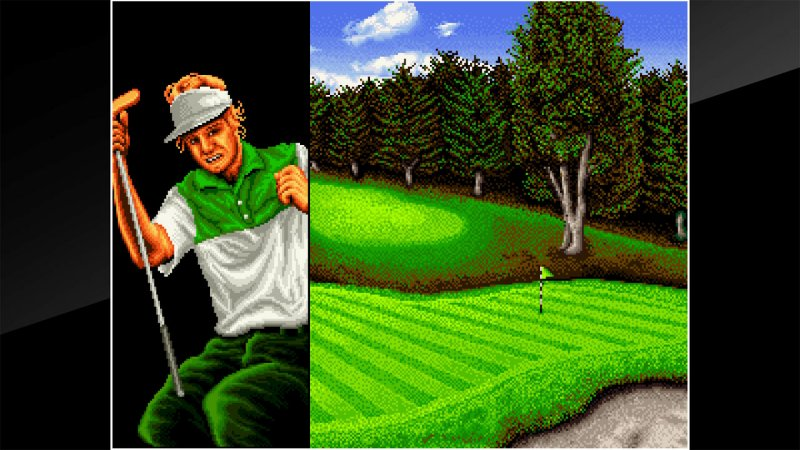 ACA NEOGEO TOP PLAYER'S GOLF截图第1张