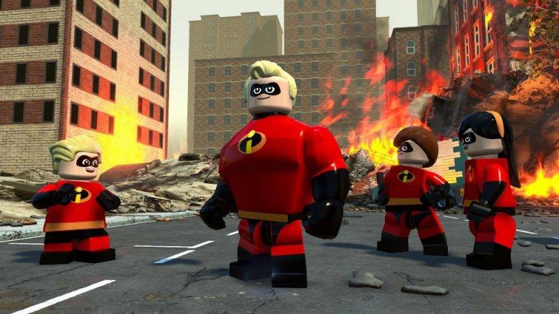 乐高超人总动员截图第1张