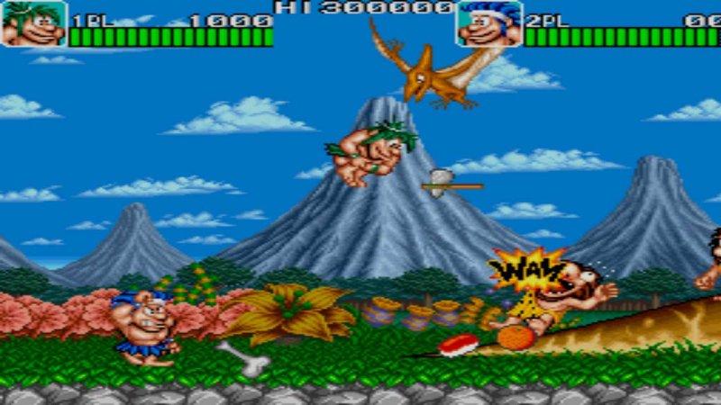Johnny Turbo's Arcade Joe and Mac Caveman Ninja截图第1张