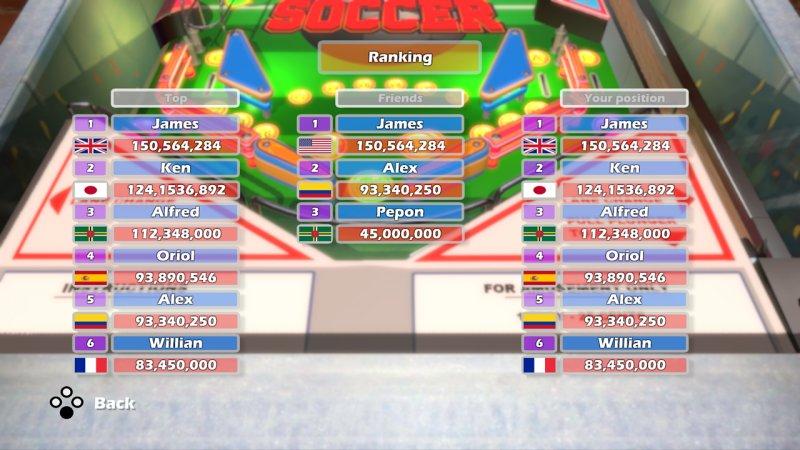 World Soccer Pinball截图第2张