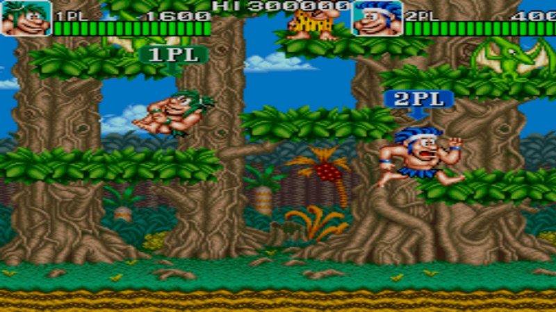 Johnny Turbo's Arcade Joe and Mac Caveman Ninja截图第3张