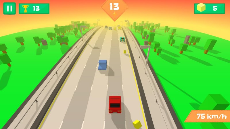 Pixel Traffic: Highway Racing截图第2张