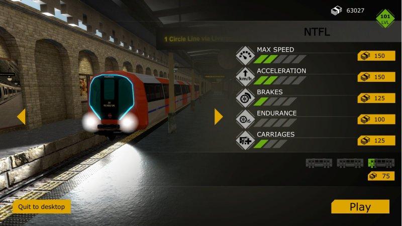 列车模拟:伦敦地铁截图第4张