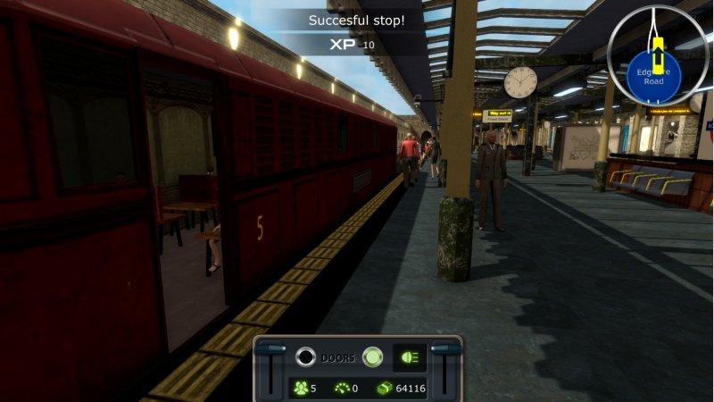 列车模拟:伦敦地铁截图第1张