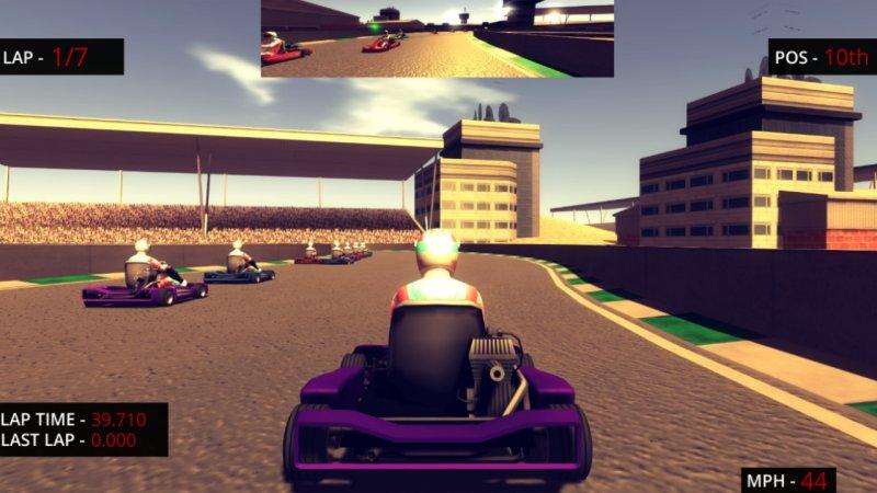 小型赛车比赛截图第4张