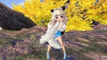 【灵女极模】灵女一件蓝色的衣服