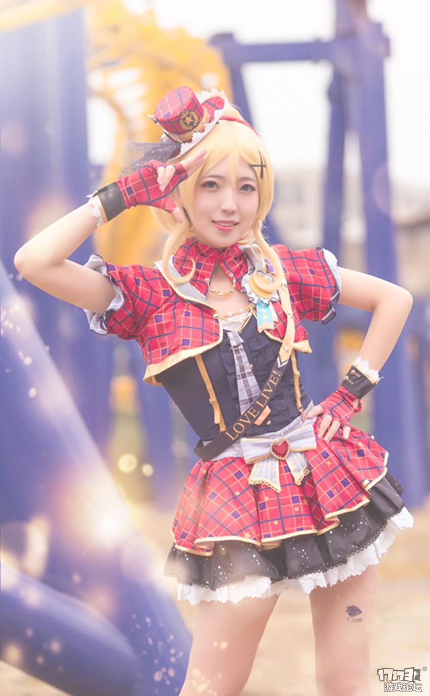 【子鱼】lovelive绚濑绘理cosplay
