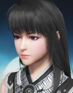 【捏脸数据】一个紫色眼睛的小萌妹~