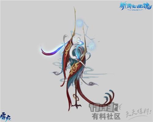 暑期爆料五大门派神兽:飞廉,鲲鹏,九尾狐,毕方,青鸟