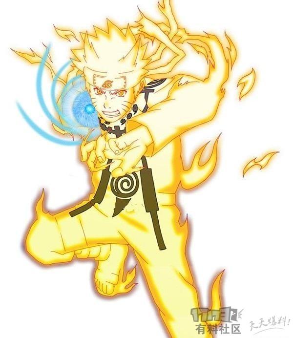 4.漩涡鸣人 速度来源:九尾查克拉模式