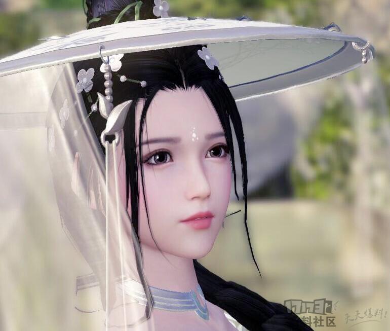 原创捏脸 长生剑 白翎玥