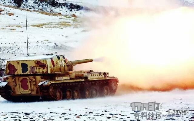 中国现役PTZ-89反坦克炮120mm绞肉机