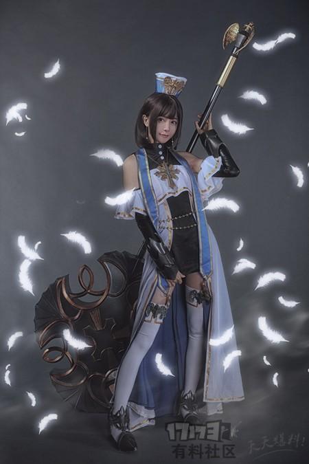 我天呐,这个又萌又可爱又漂亮的魔法师妹子是从dnf游戏中走出来的吗
