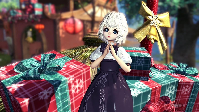 【灵女极模】圣诞节的巧克力❤~