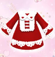 【分享图纸】红红火火新年连衣裙、留邮送无水印图纸