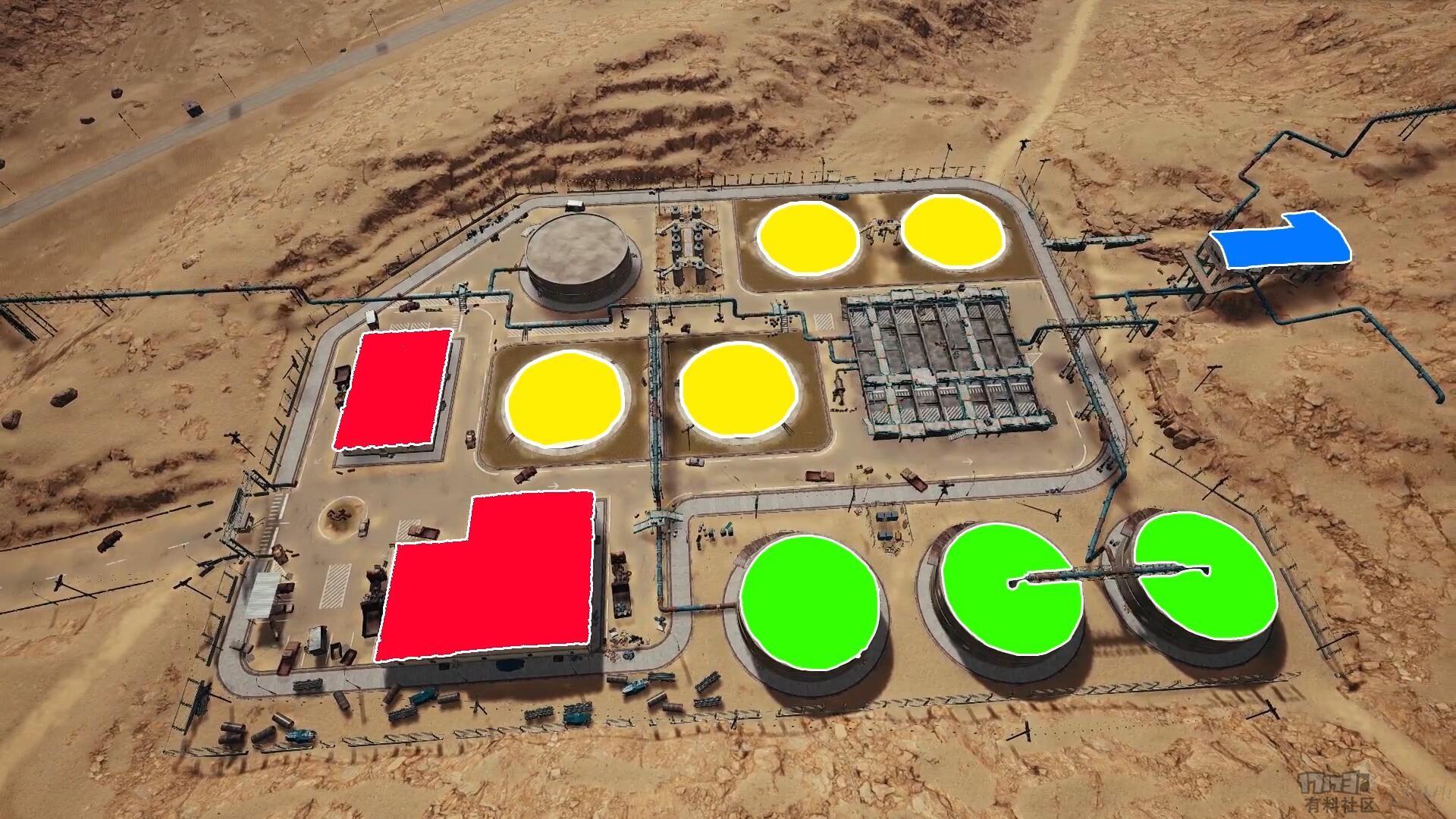 直奔水池才是王道!沙漠污水厂最合适的搜索路线及架枪攻略