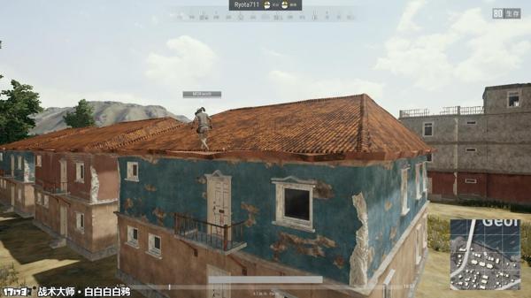 还有一个小技巧就是上房顶,以前版本的时候需要大跳,有点麻烦.