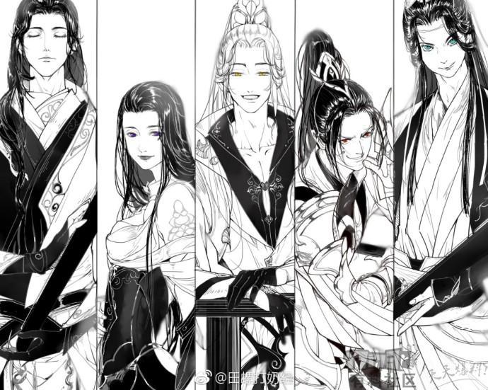 剑网3优秀同人角色欣赏 帅气傲娇天然呆
