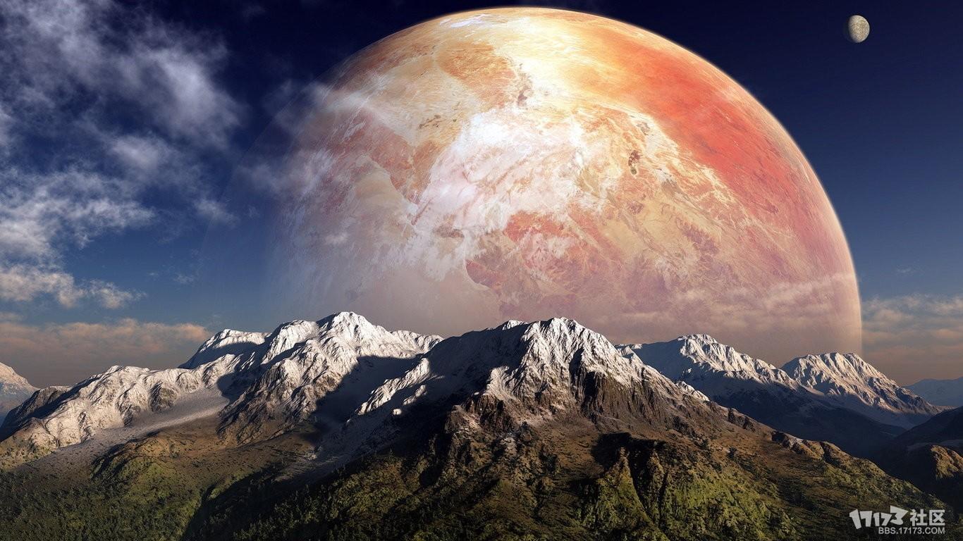 背景 壁纸 风景 皮肤 星空 宇宙 桌面 1366_768
