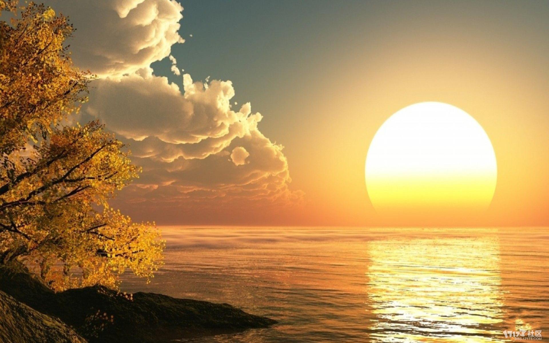 光景交融唯美风景-趣味世界-一起一起上 - 爱游戏,爱