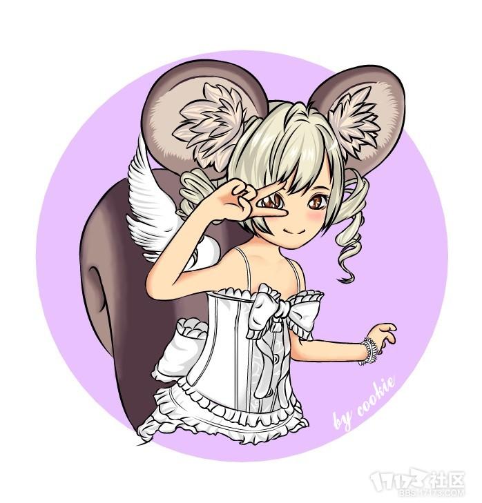 萌萌哒小松鼠一只