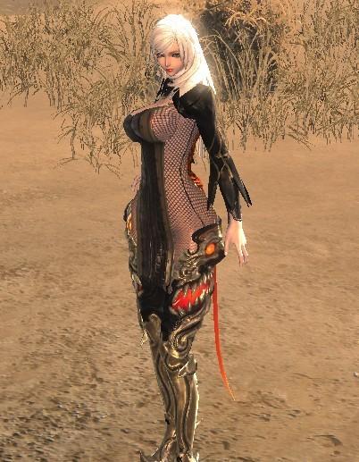 剑灵自捏美女分享 性感衣服预览