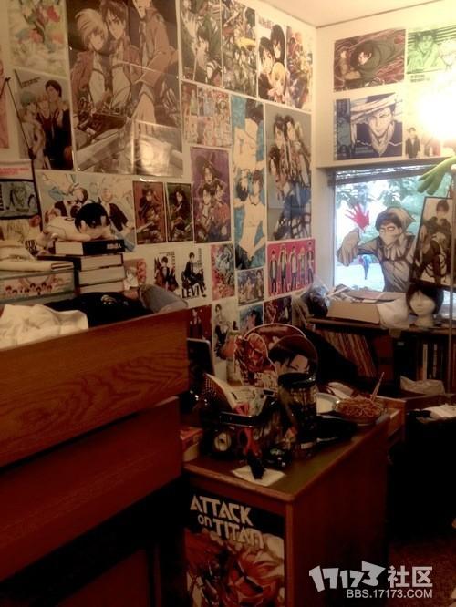 普通妹纸和二次元妹纸的房间里的文艺范