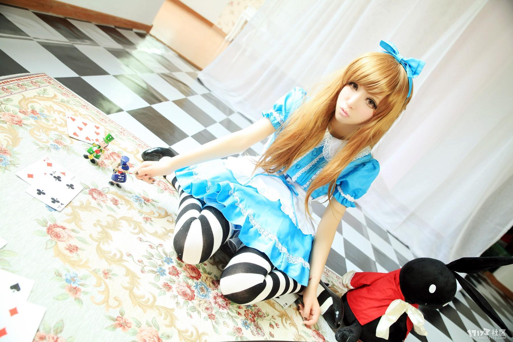 【osk39】天然呆的魔法少女小爱《爱丽丝梦游仙境 爱丽丝》