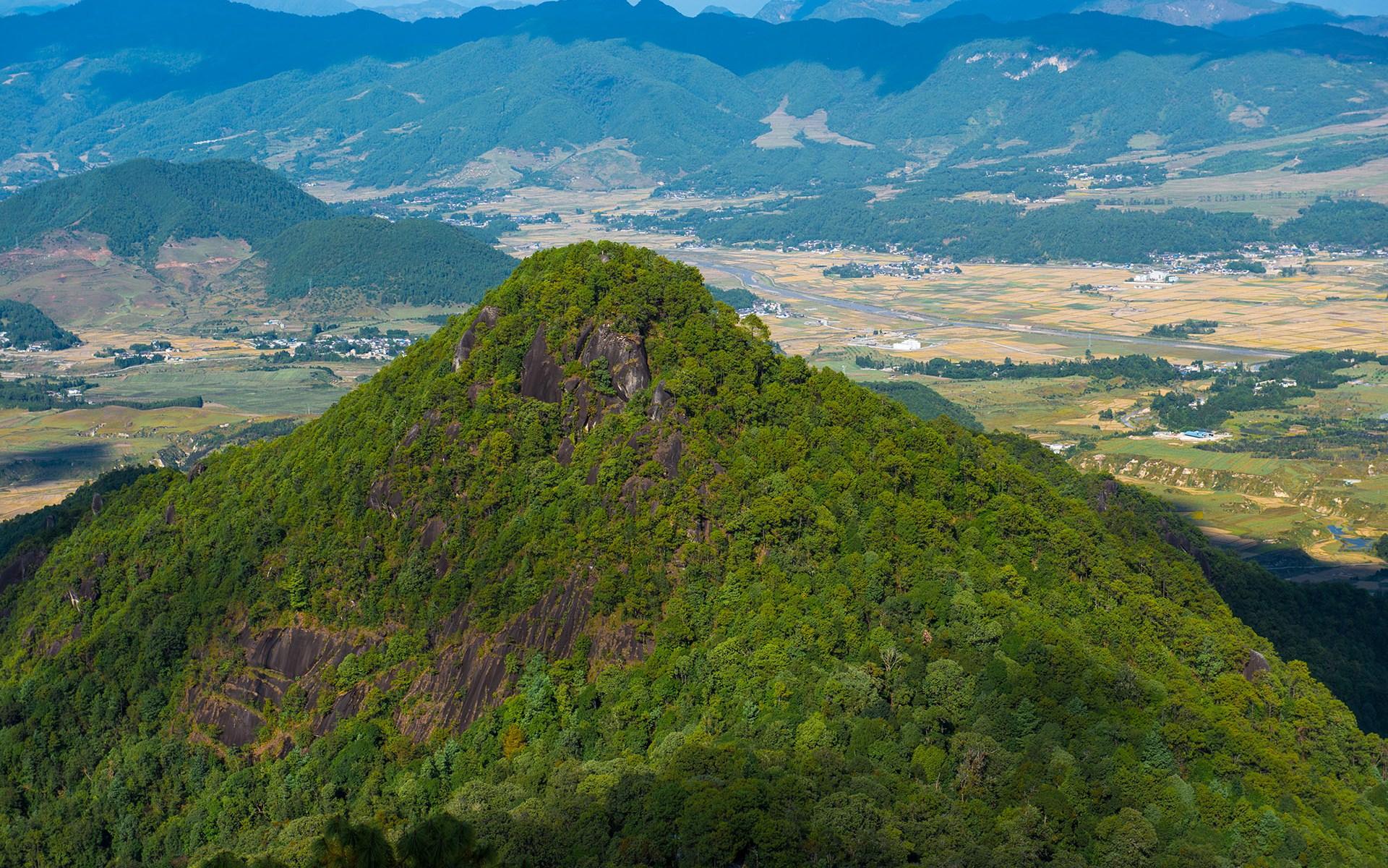 中国云南云峰山风景