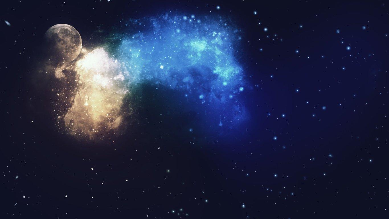 炫酷的星空图片