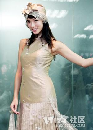 林志玲20大旗袍装扮玉背美腿婀娜动人