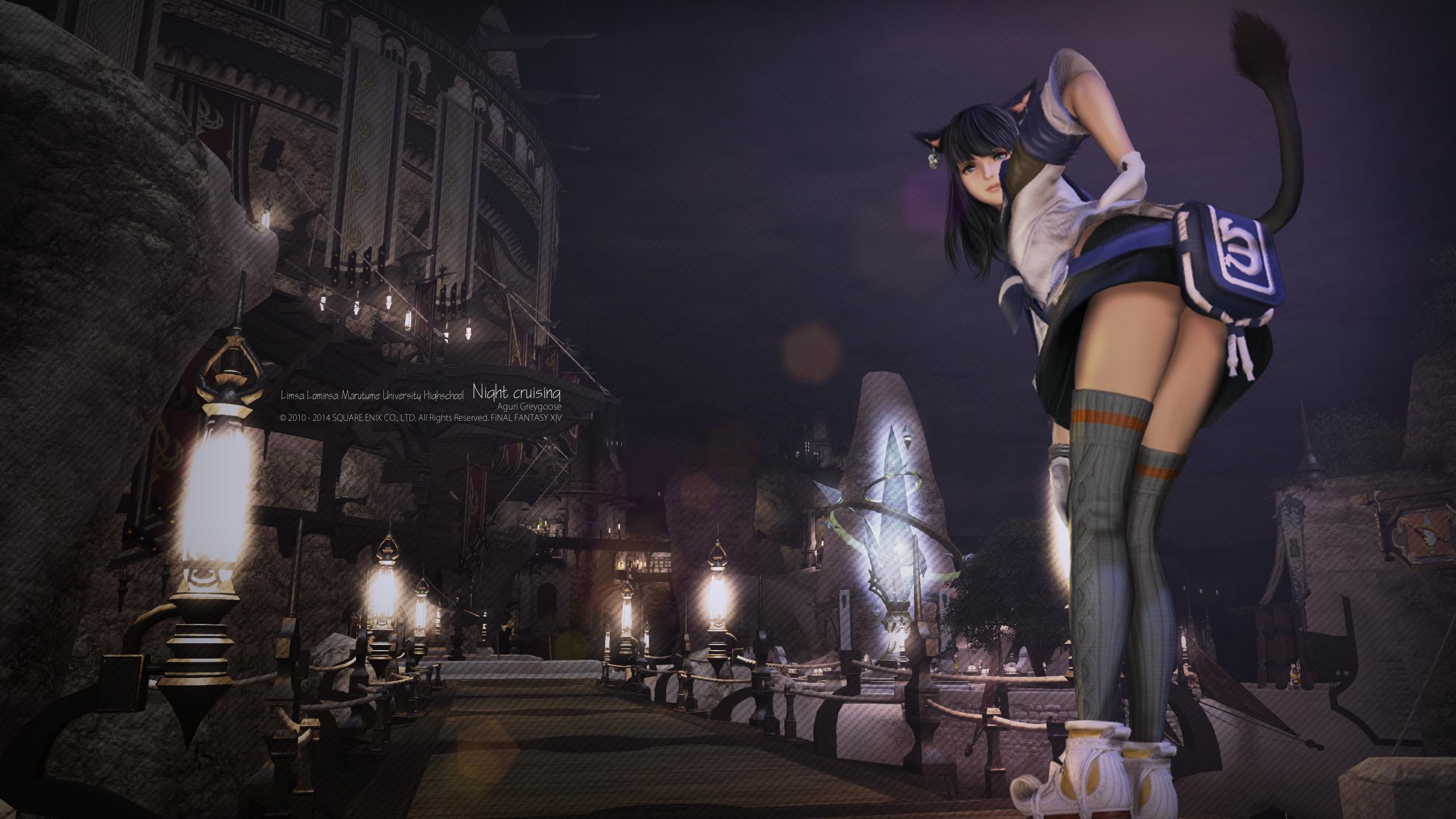 《最终幻想14》外网精美游戏高清截图壁纸