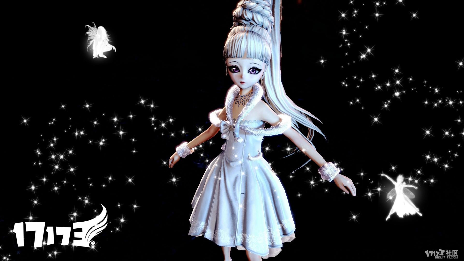 剑灵时装补丁下载 灵族可爱清纯连衣裙