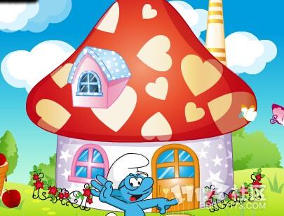 采蘑菇的小姑娘,来帮助小姑娘打扮美美的