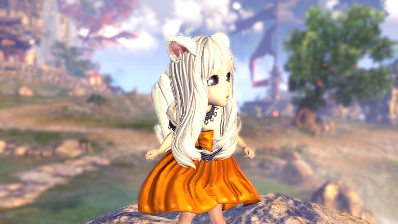 可爱的灵族小萝莉-剑灵捏人数据版-剑灵