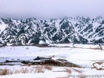 新疆 天山雪后浓墨淡抹如画