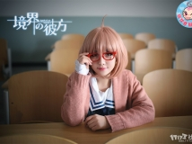 【粉红色猴子天堂】粉猴-喵小壳《境界的彼方 栗山未来》