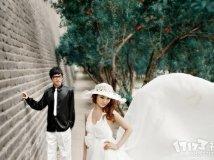 城墙根婚纱照求码,感谢感谢。