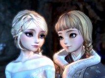 【雪糕原创】——冰雪奇缘 Elsa & Anna ——(多图杀猫)